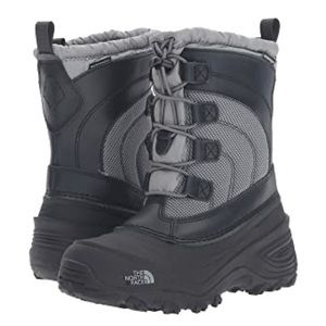 The North Face Youth Alpenglow IV Size 3 Black